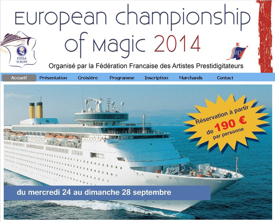 European chamionship of magic 2014