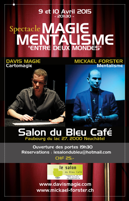 Spectacle au bleu café avril 2015