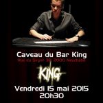 Davis-magie bar King 15 mai 2015