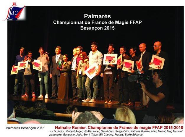 Palmares FFAP 2015